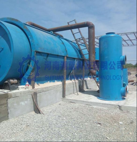 Tire pyrolysis reactor